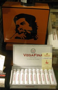 Zigarrenwerbung mit Che Guevara