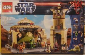 """StarWars Baukasten """"Jabba's Palace"""" von LEGO (Vorderansicht)"""