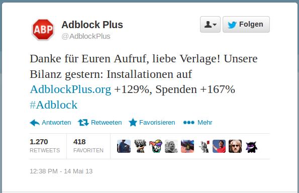 AdblockPlus-Steigerung