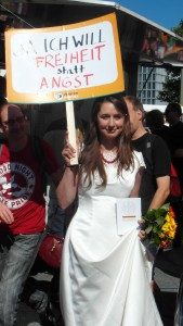 Hochzeit mit dem Grundgesetz