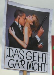 Merkel und Obama: Das geht gar nicht.