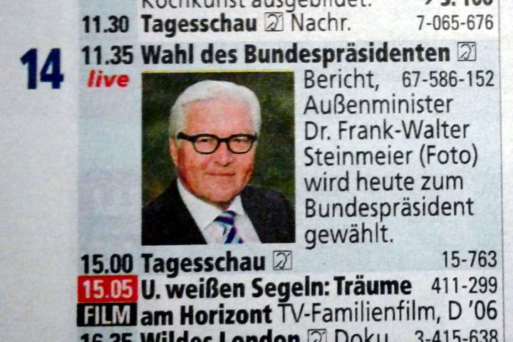 """Ankündigung in der Programmzeitschrift """"tv direkt"""" Nr. 3"""