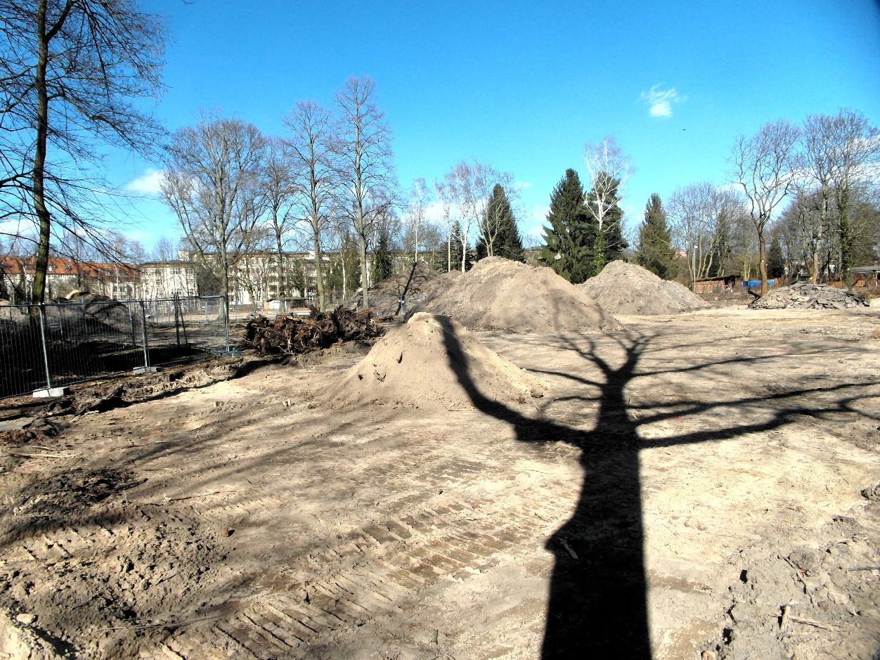 Leonorenpark — Parkblick am 15.03.2017