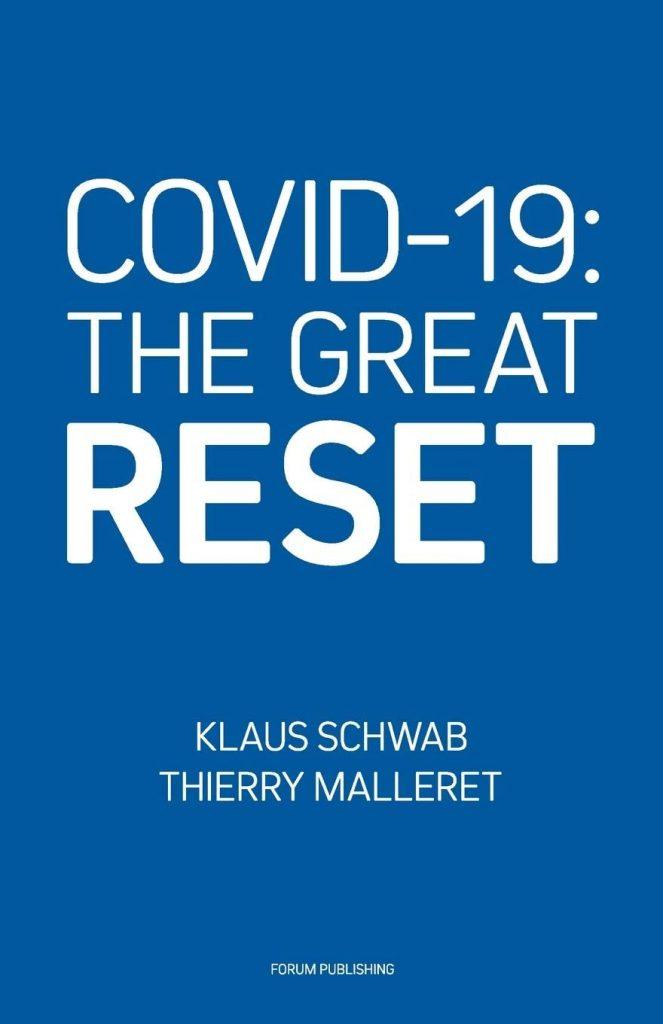 """Buchdeckel von """"The Great Reset""""."""