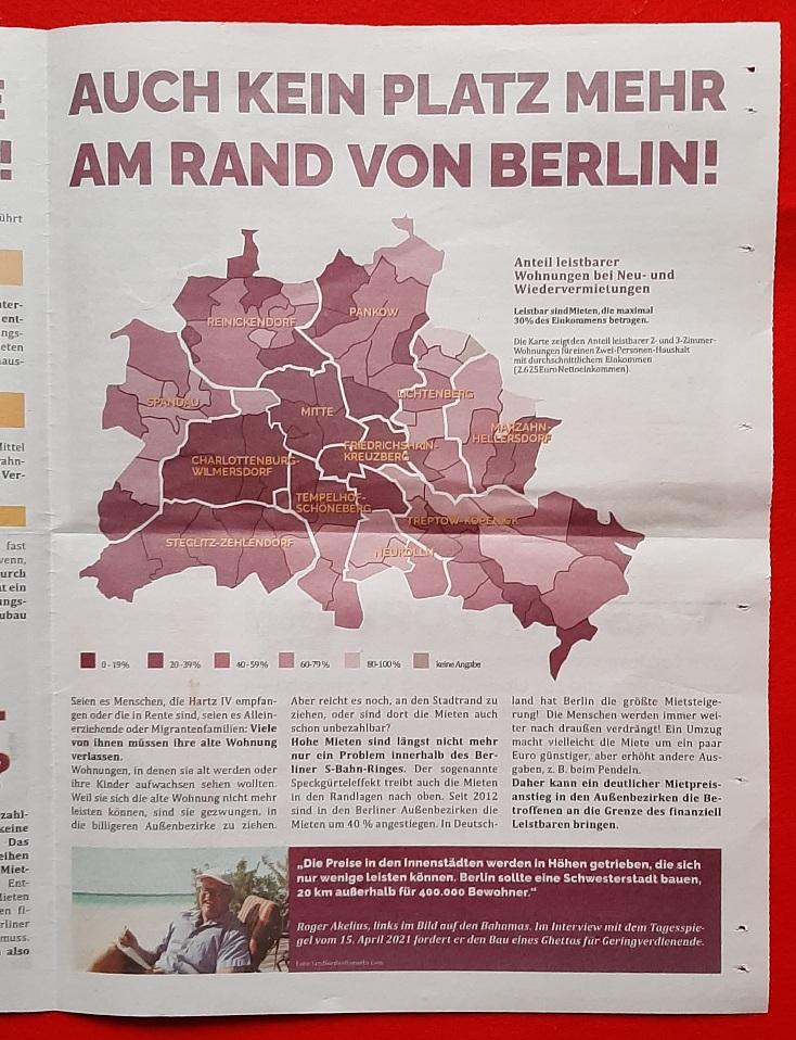Auch kein Platz mehr am Rand von Berlin